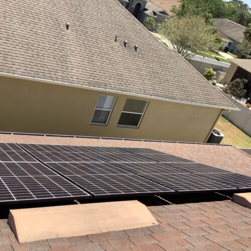 eHome By Design a Solar Power Company - panels on roof 2
