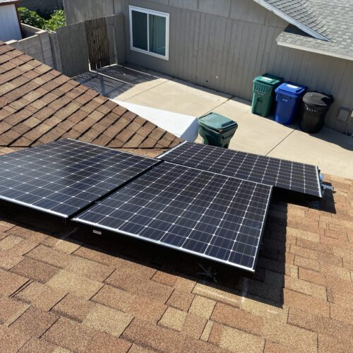 eHome By Design a Solar Power Company - panels on roof