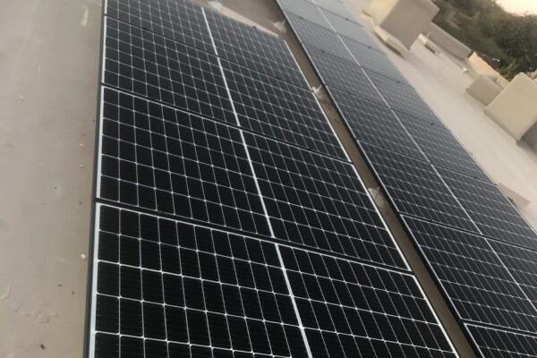 Solar Energy Company - panels on roof