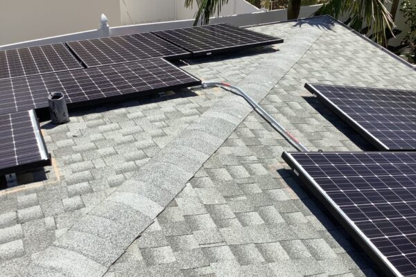 Solar Energy Company - panels on another roof