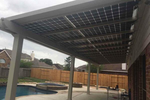 ehome by design solar energy Company - solar pergola